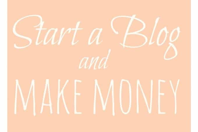 Make Money Blogging! How to start a food blog!