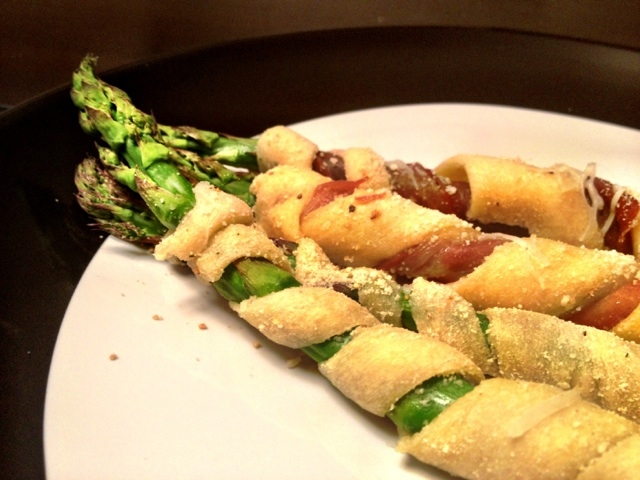 Crescent Roll Wrapped Asparagus