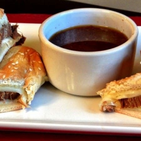 beef au jus sandwiches (french dip)