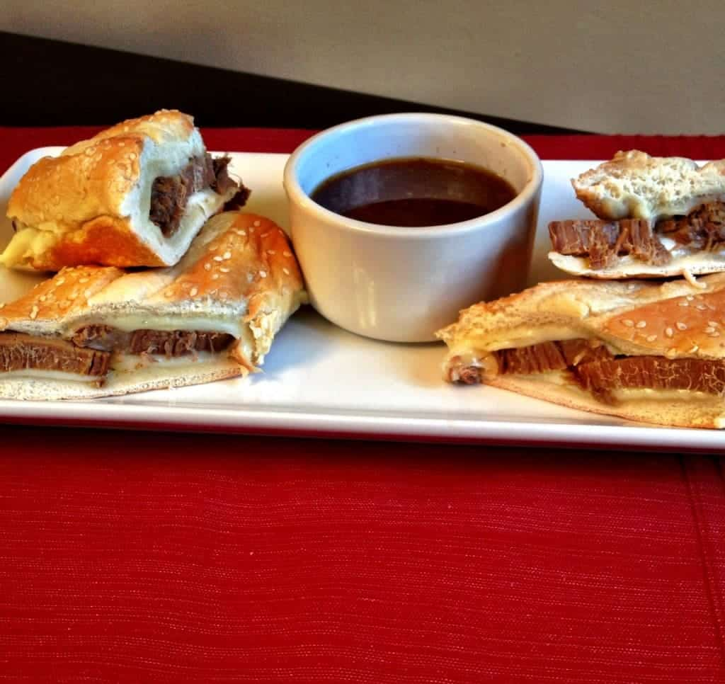 beef french dip sandwiches