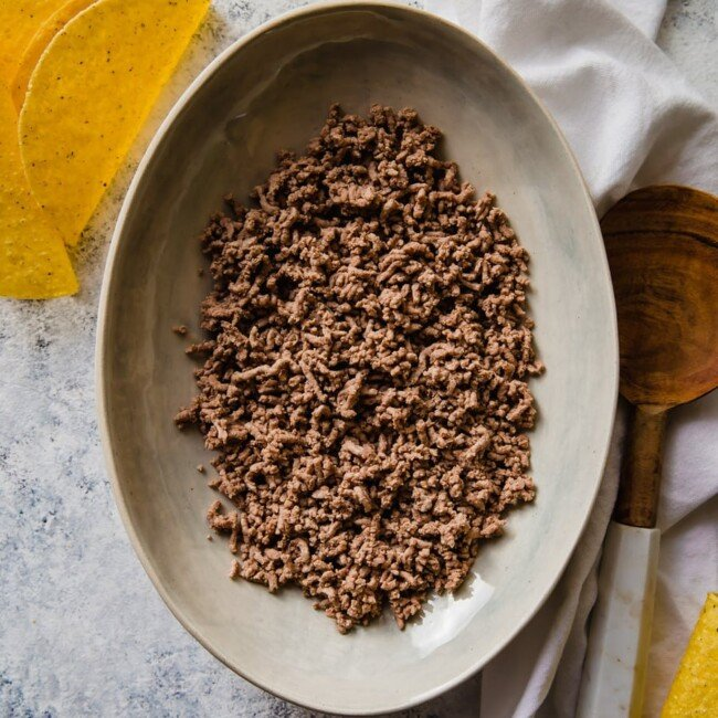 ground beef for tacos