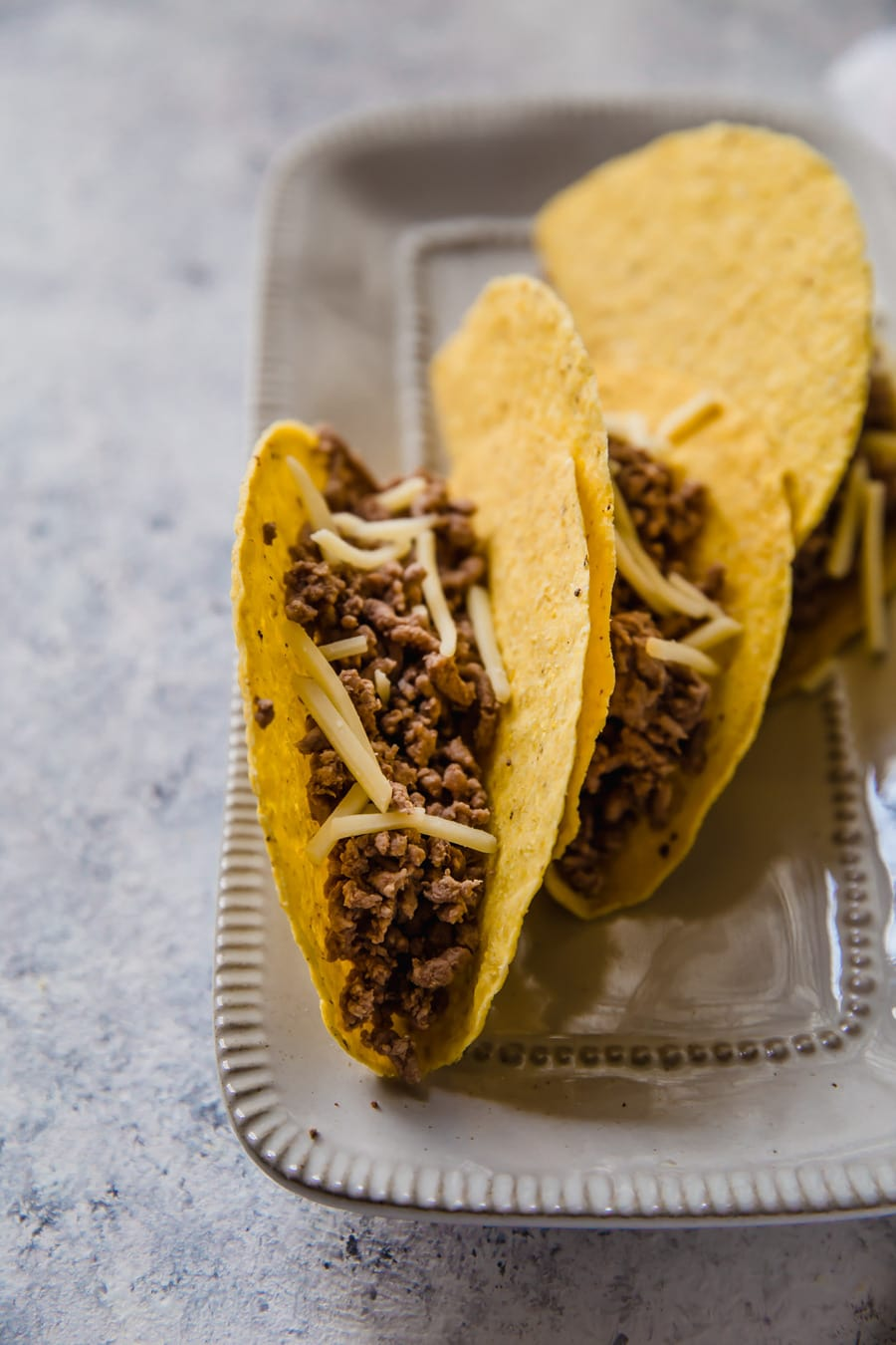 how to cook ground beef for tacos, ground beef in taco shells