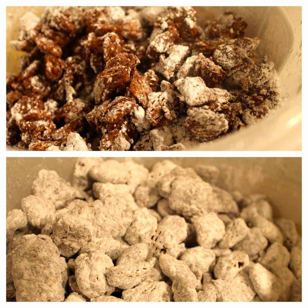 mint kissed puppy chow
