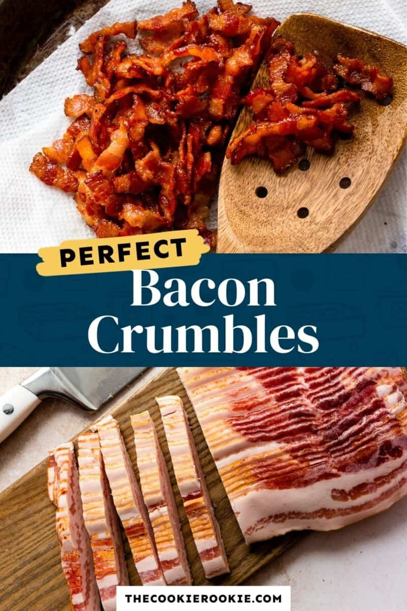 bacon crumbles pinterest