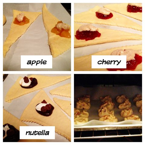 crescent roll pies
