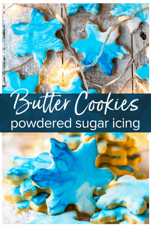 iced butter cookies pinterest photo