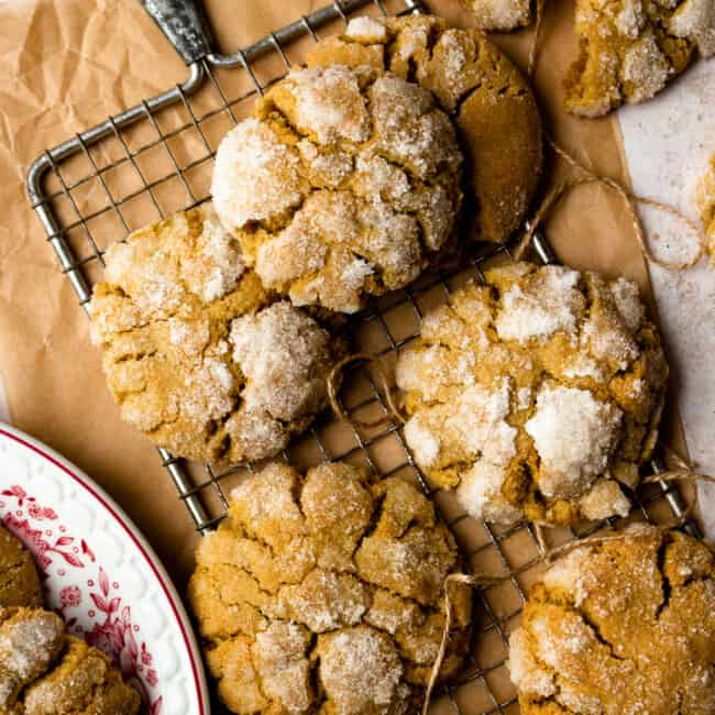 featured ginger cookies