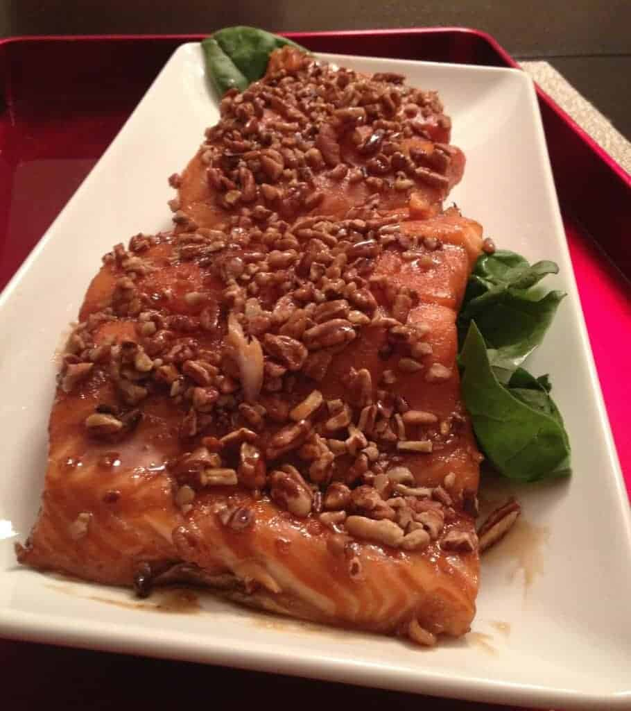 bourbon brown sugar salmon