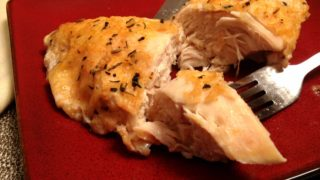 buttercream baked chicken