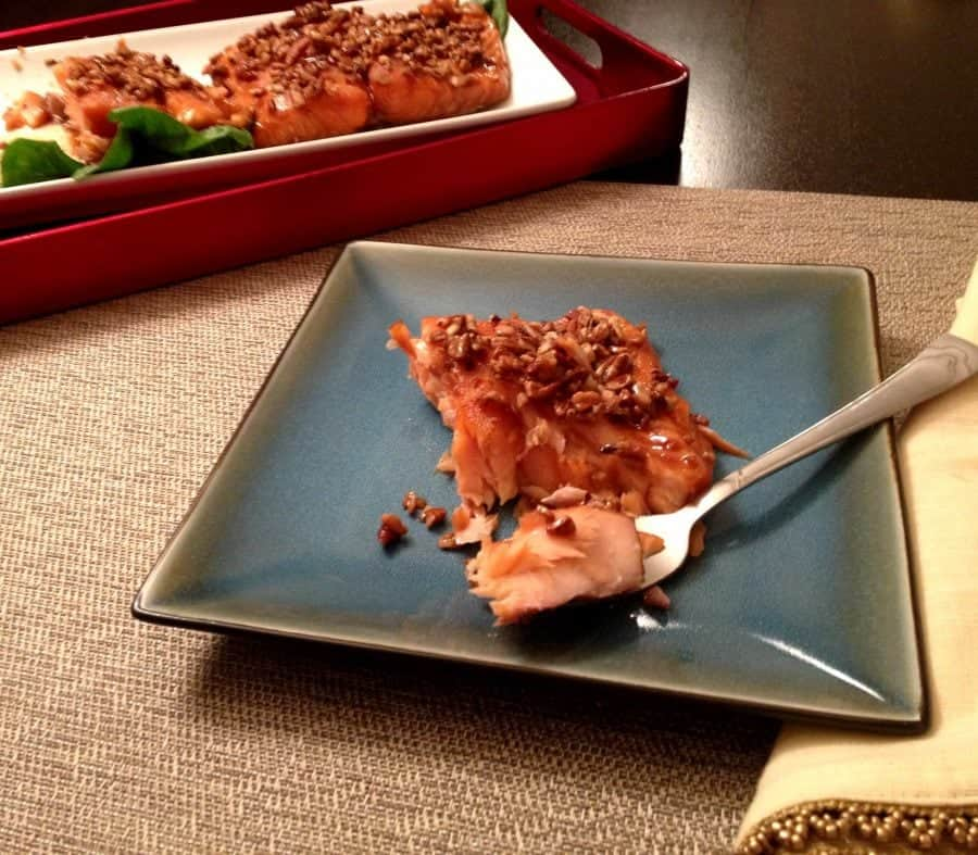 Bourbon Brown Sugar Salmon Recipe The Cookie Rookie 174