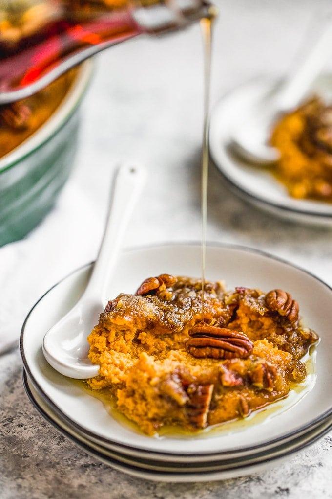 easy make ahead sweet potato casserole recipe