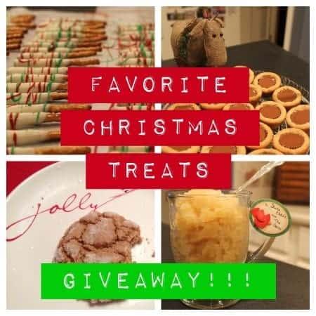 favorite christmas treats **GIVEAWAY**
