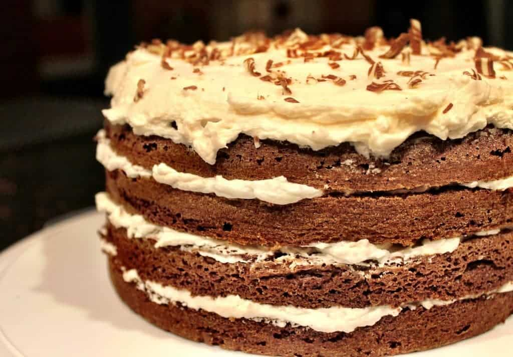 true love chocolate cake