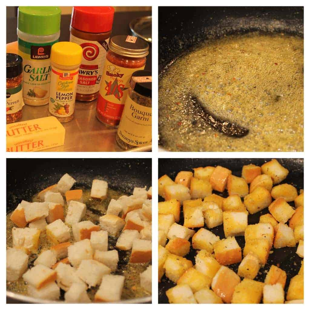 perfect homemade croutons