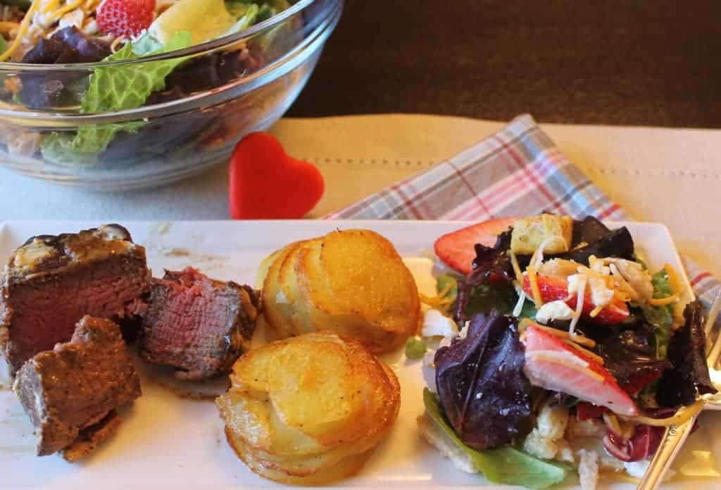 steak with sherry sauce