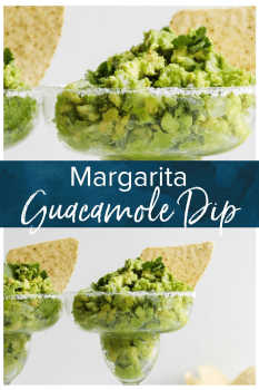 Guacamole Dip is a staple for game day, Cinco de Mayo, and summer parties. This delicious Margarita Guacamole Dip recipe is the perfect party dip, and it's so easy to make too. The secret? A bit of tequila mixed into the guacamole for an extra kick! #thecookierookie #guacamole #dip #gameday #cincodemayo