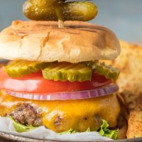 How to Cook Burgers on the Stove - Perfect Stovetop Burgers!