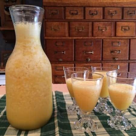 aunt lily's orange juice