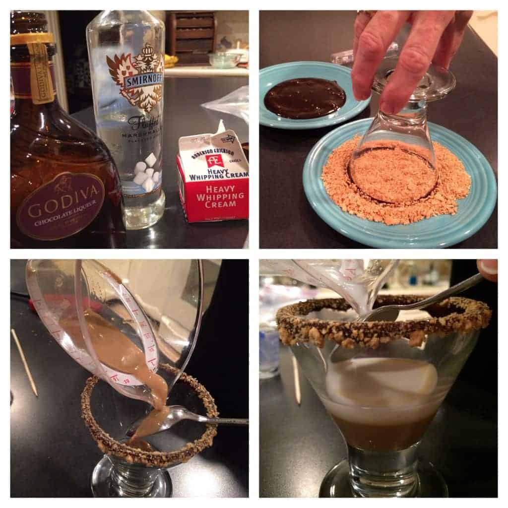 toasted s'more martini