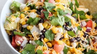 Black Bean & Corn Mexican Dip Recipe (Fresh Fiesta Dip)