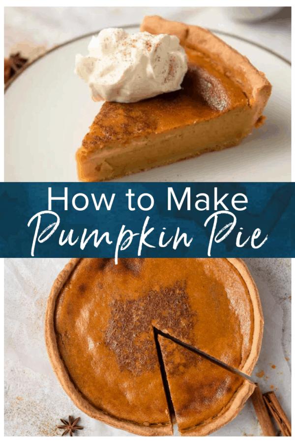 pumpkin pie pinterest photo