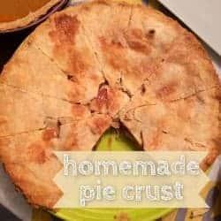 delicious homemade pie crust