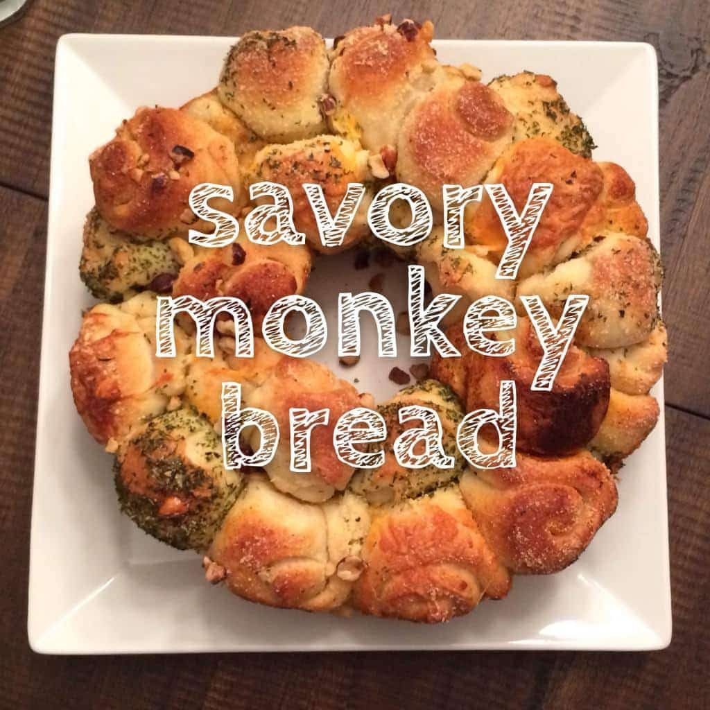 savory monkey bread. make them your own, so much fun! great addition ...