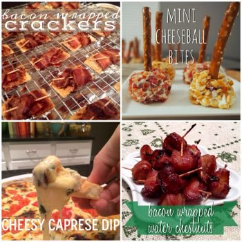 These are the best last minute appetizer recipes for a holiday party! New Year's Eve appetizer recipes that are quick and easy to make.