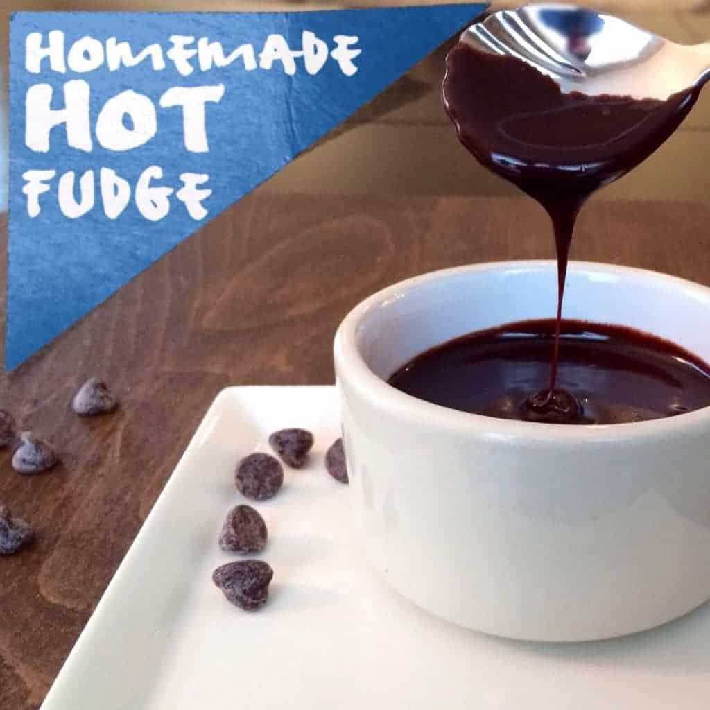 homemade hot fudge. i'll be keeping this recipe!