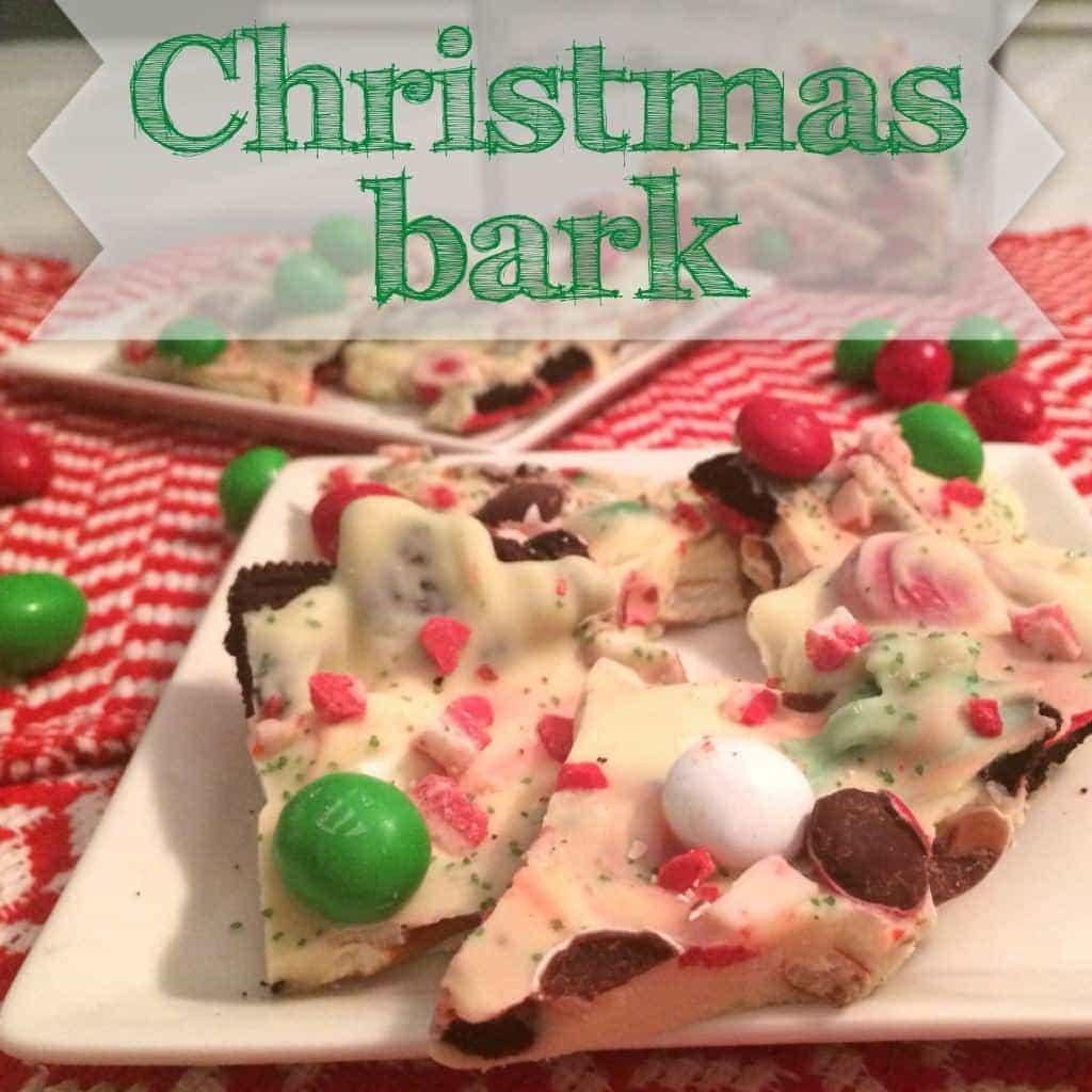 Christmas Bark.Christmas Bark Recipe