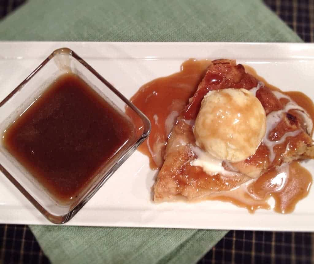 rustic almond pear tart with toffee sauce...DELICIOUS. my dad proclaimed this his new favorite dessert...its so delicious