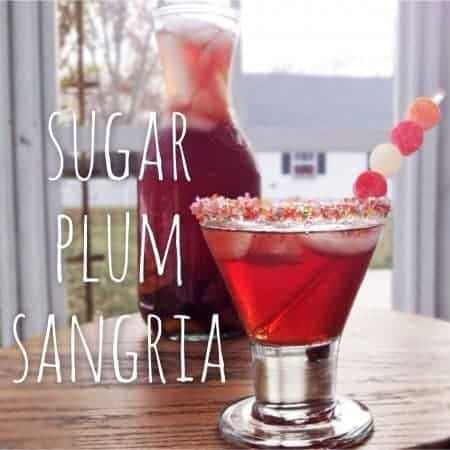 thirsty thursday: sugar plum sangria