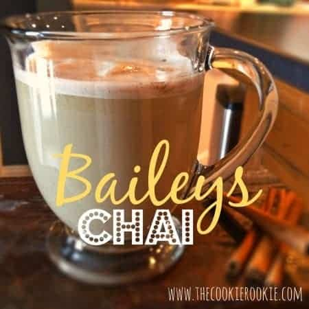 thirsty thursday: Baileys Chai