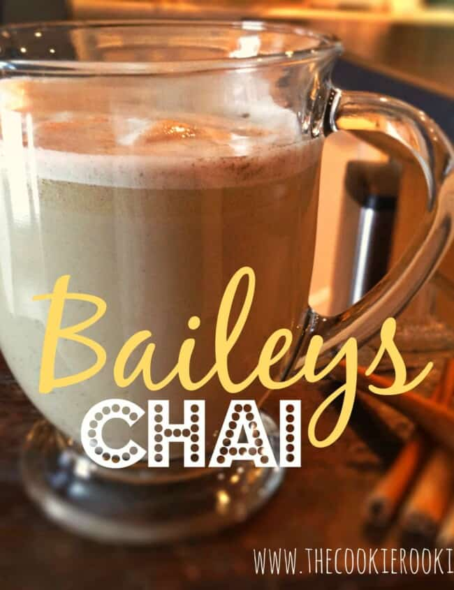 bailey's chai tea latte