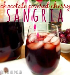 chocolate covered cherry sangria