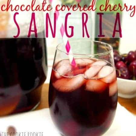 thirsty thursday: chocolate covered cherry sangria