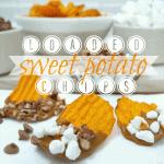loaded sweet potato chips