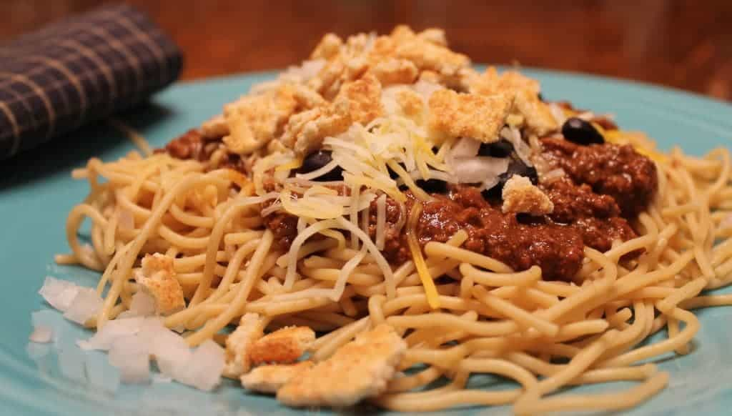i LOVE cincinnati chili!! delicious!
