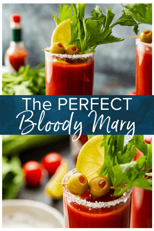 Perfect Bloody Mary- Pinterest collage
