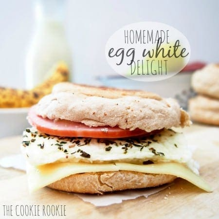 {weekend slim down} Copycat Egg White Delight