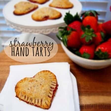 Grand Marnier Strawberry Hand Tarts