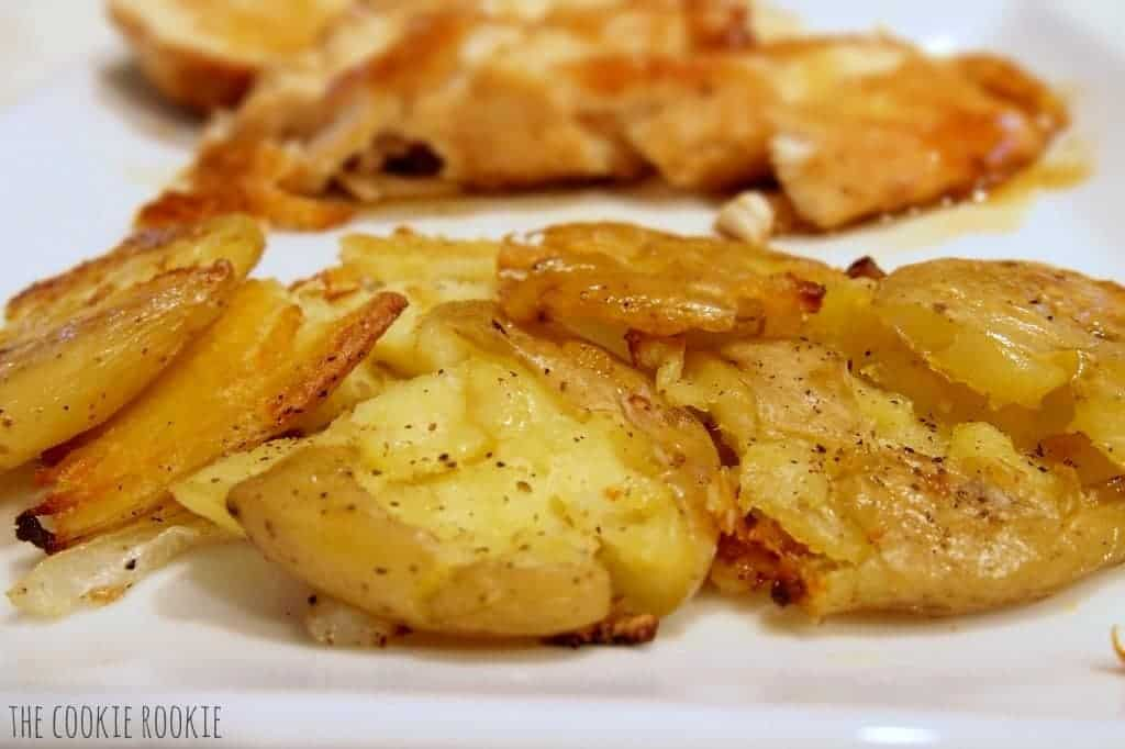 Baby Smash Potatoes {The Cookie Rookie}