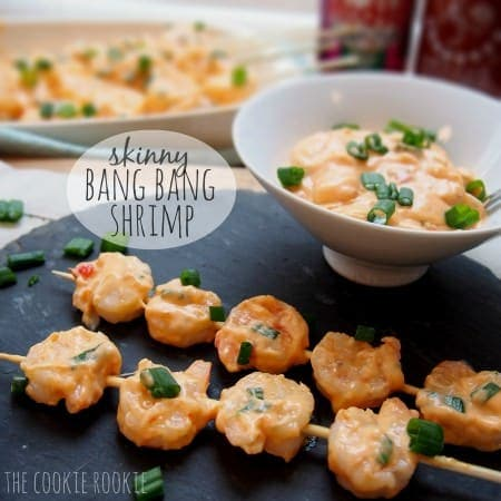 {weekend slimdown} skinny bang bang shrimp
