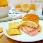 Baked Ham & Swiss Sliders