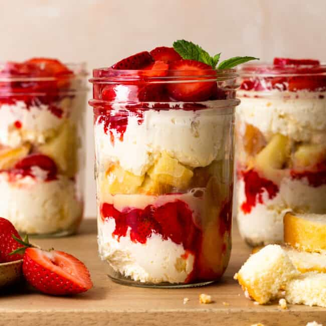 featured strawberry shortcake cups