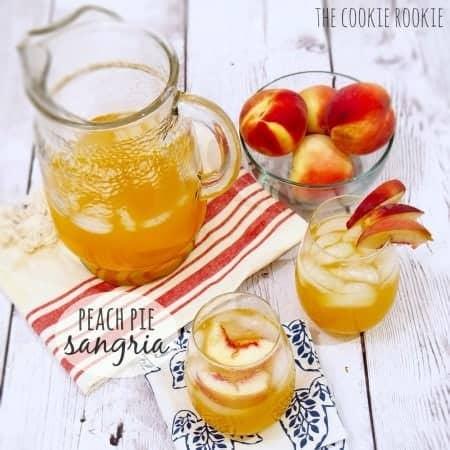 Peach Pie Sangria