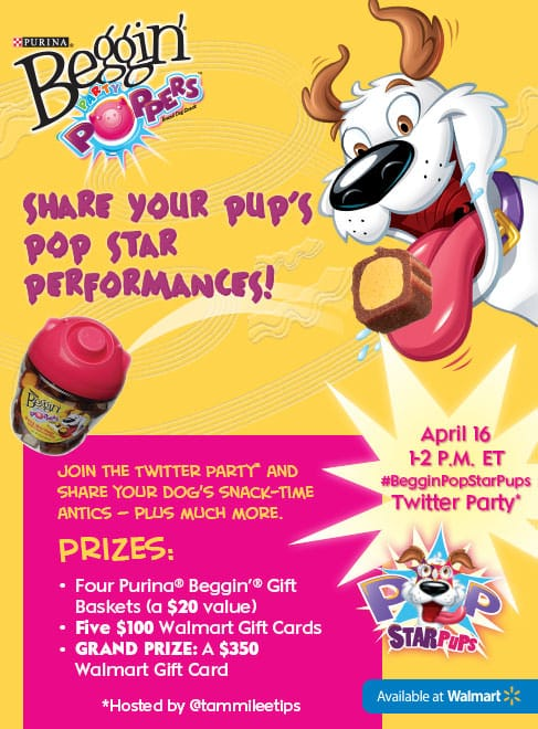Purina Beggin Party Poppers! Scout loved these