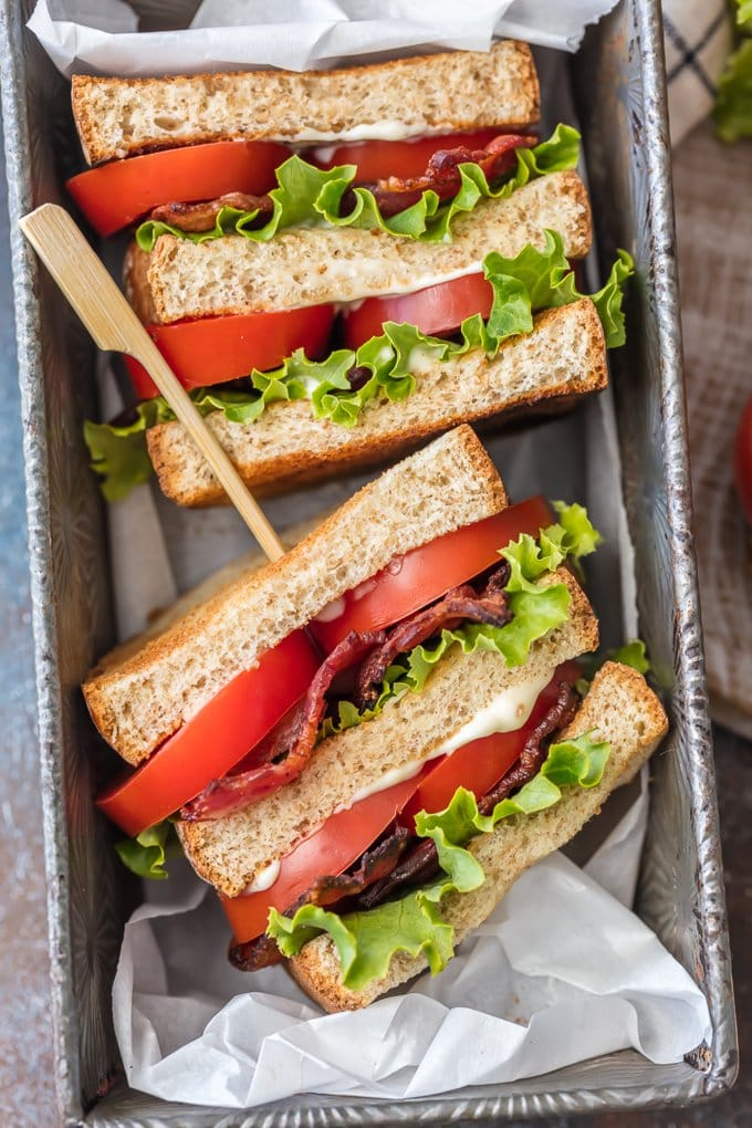 Container with BLTs