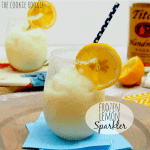 Thirsty Thursday: Frozen Lemon Sparklers