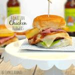 Hawaiian Chicken Burgers